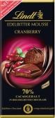 """Шоколад """"Линдт"""" чёрный/мусс/клюква, 150 г – ИМ «Обжора»"""