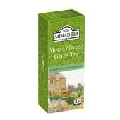 Чай Ахмад (Ahmad) зелёный мята/мелисса (25пак/1,8г) – ИМ «Обжора»