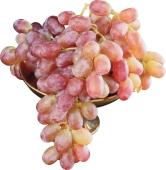 """Виноград  розовый, сорт """"Дамский Пальчик"""", вес. – ИМ «Обжора»"""