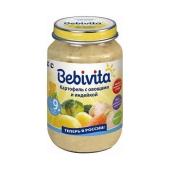 Пюре Бебивита (Bebivita) Картофель и овощи с индейкой 190 г – ИМ «Обжора»