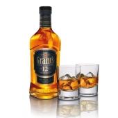 Виски Грантс (Grants) 12 лет 0.75 л/ кор – ИМ «Обжора»