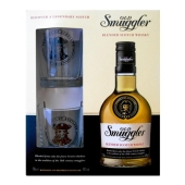 Виски Олд Смуглер (Old Smuggler) 0,7л. + 2 стакана – ИМ «Обжора»