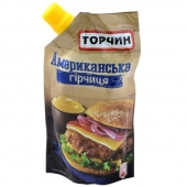 Горчица Торчин Американская 130 г – ІМ «Обжора»