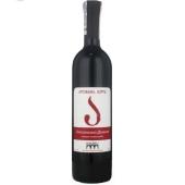 Вино Грузии Кварели (Kvareli) Алазанская долина красное п/сл 0,75 л. – ИМ «Обжора»