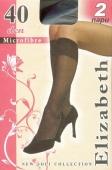 Гольфи ELIZABETH Microfibre 40 Nero UNICA – ІМ «Обжора»
