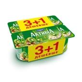 Йогурт Активиа киви-мюсли 4х115г – ИМ «Обжора»