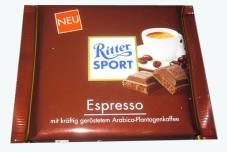 Шоколад Риттер 100г еспрессо – ИМ «Обжора»