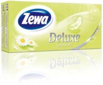 Платки нос. Зева (ZEWA) Делюкс 3 слоя 10*10 Perfume по шт. – ИМ «Обжора»