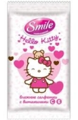 Платки Смайл (Smile) Hello Kitty Микс сухие 10 шт – ІМ «Обжора»