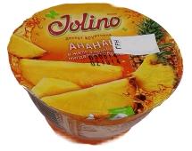 Десерт Джолино (Jolino) ананас в желе миндального бренди 150 гр. – ИМ «Обжора»