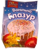 Глазурь ванильная Деко 75 г – ИМ «Обжора»