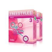 Презервативы Фристайл (FREESTYLES) Ribbed 3 – ИМ «Обжора»