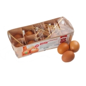 Куриное яйцо Фермерское отборное 10 шт. – ИМ «Обжора»