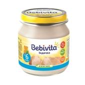 Пюре Бебивита (Bebivita) Индейка 100 г – ИМ «Обжора»