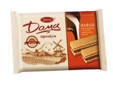 Вафли Дома шоколад 100 г – ИМ «Обжора»