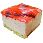 Торт Клубнично-вишневый фреш вес – ІМ «Обжора»