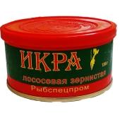 Икра лососевая Рыбспецпром, 130 г – ИМ «Обжора»