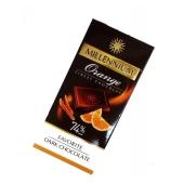 Шоколад Миллениум (Millennium) Favorite черный брют 74% какао, апельсин, 100 г – ИМ «Обжора»