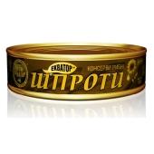 "Шпроты ""Экватор"", ГОСТ N2, 160 г – ИМ «Обжора»"