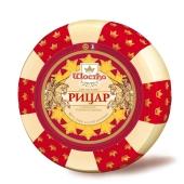 Сыр Рыцарь с топленым молоком 50% Шостка весовой – ИМ «Обжора»