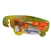Зубная щетка Акварель (Aguarelle) Детская 4-х цветная с песочными часами – ИМ «Обжора»