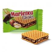 Конфеты АВК Марлетка вафельные шоколад вес – ИМ «Обжора»