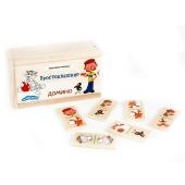 Домино Союзмультфильм деревянное – ИМ «Обжора»