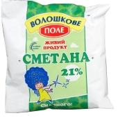 Сметана Волошково поле 21% 400л п/э – ИМ «Обжора»