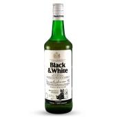 Виски Блэк & Вайт (Black & White)  0.7л 40% – ИМ «Обжора»