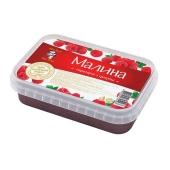 Замороженная малина Рудь перетёртая с сахаром 250 г – ИМ «Обжора»