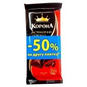 Шоколад Корона экстра черный  90 г – ИМ «Обжора»