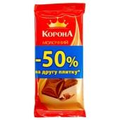 Шоколад Корона молочный, 90 г – ІМ «Обжора»