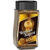 Кофе Черная карта Gold 95 г – ИМ «Обжора»