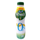 Йогурт Активиа натуральный 580 г 0% – ИМ «Обжора»