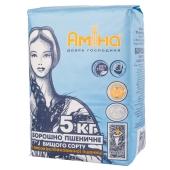 Мука Амина 5кг пшеничная  в/с (ГЦ) – ИМ «Обжора»