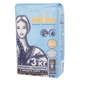 Мука Амина 3кг пшеничная  в/с (ГЦ) – ИМ «Обжора»