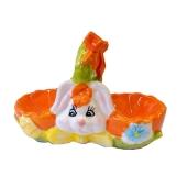 Подставка Камелия Пасхальная под 2 яйца ,керамика – ИМ «Обжора»