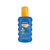 Спрей Нивея (NIVEA) Солнцезащитный разноцветный для детей SPF30+ – ИМ «Обжора»