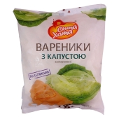 Вареники Сыта хата с капустой, 900 г – ИМ «Обжора»