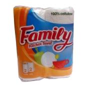 Полотенце кухонное Фемели Сиси 2 слоя /100% целюл. – ИМ «Обжора»