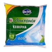 Кефир Лактония 0,05% 400 г – ИМ «Обжора»