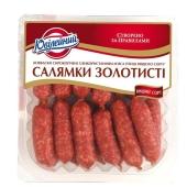 Колбаски Юбилейный Салямки золотистые 200 г – ИМ «Обжора»