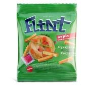 Сухарики Флинт (Flint) Холодец хрен 80 г – ИМ «Обжора»