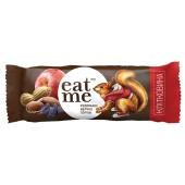 Батончик EatMe изюм яблоко орехи в шоколаде 30 г – ИМ «Обжора»