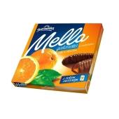 Мармелад Мелла апельсин в черном шоколаде 190 г – ИМ «Обжора»