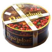 Торт БКК(Булочно-кондитерский комбинат) Пражский с вишней 500 г – ИМ «Обжора»