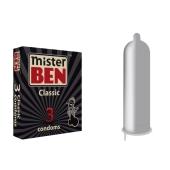 Презервативы Мистер Бен (Mr. Ben) Классик 3 шт – ИМ «Обжора»