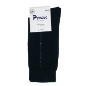 Носки Псокс (Psocks) Лого черные 44-45р. полоска – ИМ «Обжора»