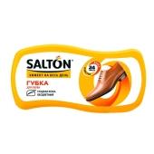 Губка Салтон (Salton) для обуви Волна черная для гладкой кожи с норковым маслом – ИМ «Обжора»
