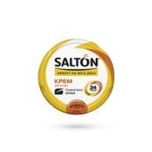 Крем банка Салтон (Salton) для обуви черный с норковым маслом 50 мл – ИМ «Обжора»
